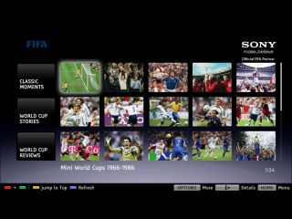 Sony - giving you a World Cup lift