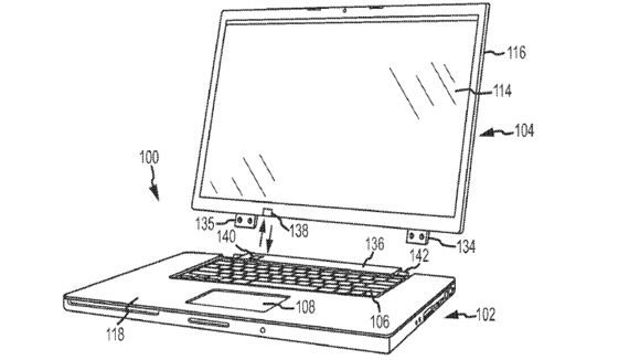 Apple patents convertible laptop with wireless charging