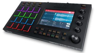 The MPC Touch is the latest in a long line of pad-based products from Akai.