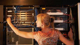 Female AV/IT professioonal