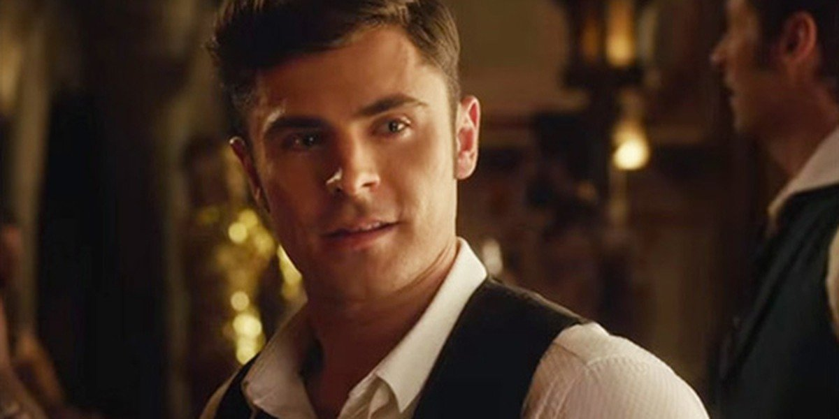 Zac Efron in The Greatest Showman.