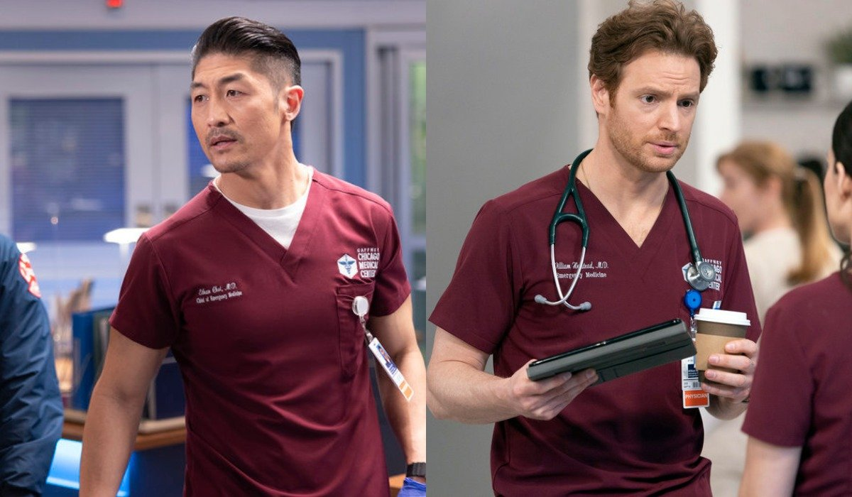 chicago med season 6 ethan and will