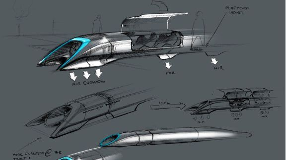 Hyperloop goes from billionaire's idea to billionaire's idea on paper