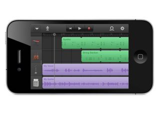 GarageBand on an iPhone Yes indeed