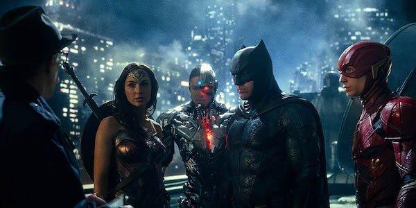 Justice League Batman Cyborg Wonder Woman The Flash