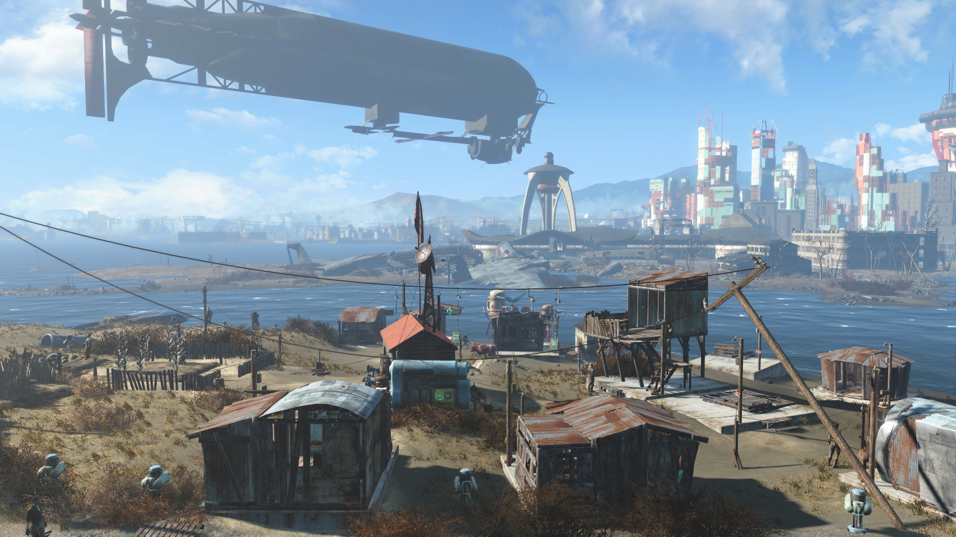 The Sim Settlements mod for Fallout 4 is so good it should be an