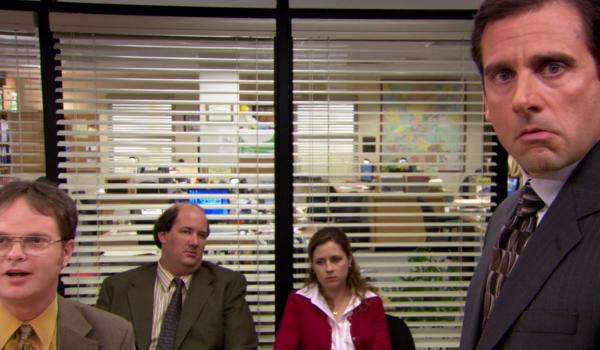 The Office Rainn Wilson, Kevin Malone, Jenna Fischer, Steve Carell