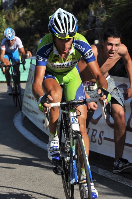 Vincenzo Nibali attacks, Vuelta a Espana 2010, stage 14