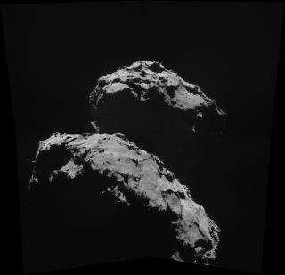 Comet 67P/Churyumov–Gerasimenko Seen at a Distance of 17.3 Miles