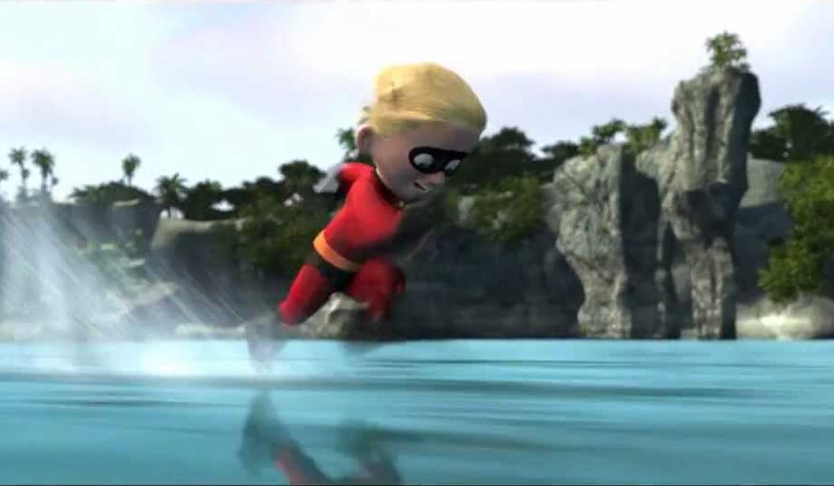 Dash running in the Incredibles