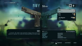 Far Cry 3 menu