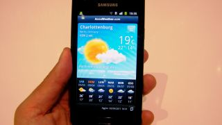 Hands on: Samsung Galaxy R review