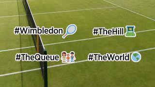 Twitter emojis for Wimbledon