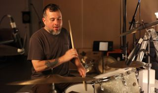 Thanks to his early days jamming to gogo music Clutch s drummer is a master of groove