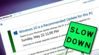 Microsoft cools it with the Windows 10 upgrades in wake of lawsuit