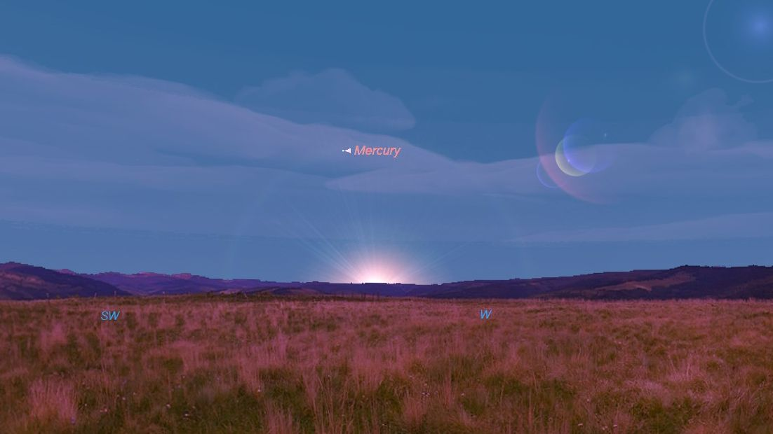 Spot the 'Elusive' Planet Mercury at Its Best Tonight