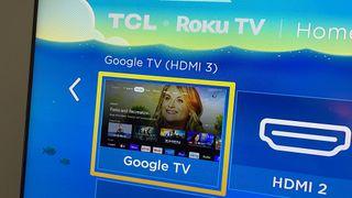 Google TV on Roku TV