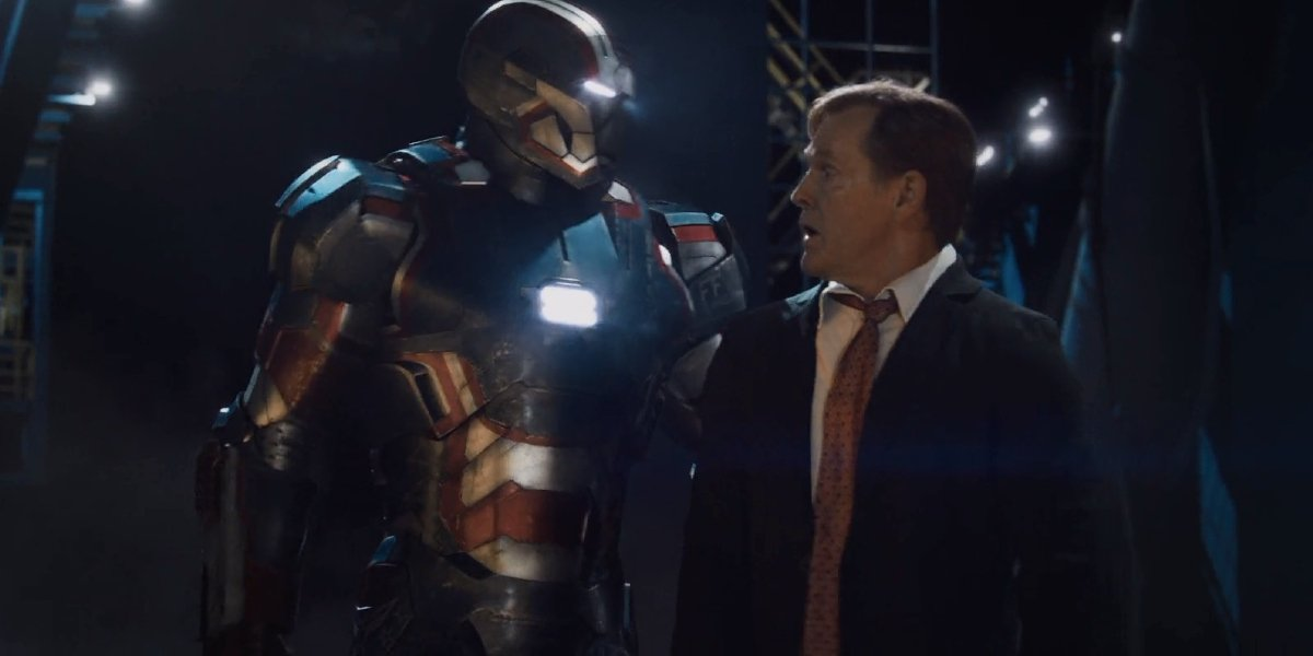 William Sadler in Iron Man 3