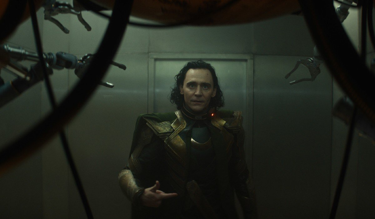 Loki terrified by technology Disney+
