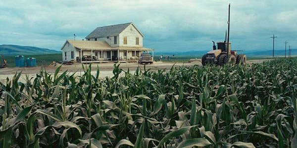 Matthew McConaughey's corn field in Christopher Nolan's Interstellar
