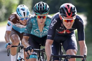 B&B Hotels-Vital Concept's Pierre Rolland on the attack during stage 19 of the 2020 Tour de France