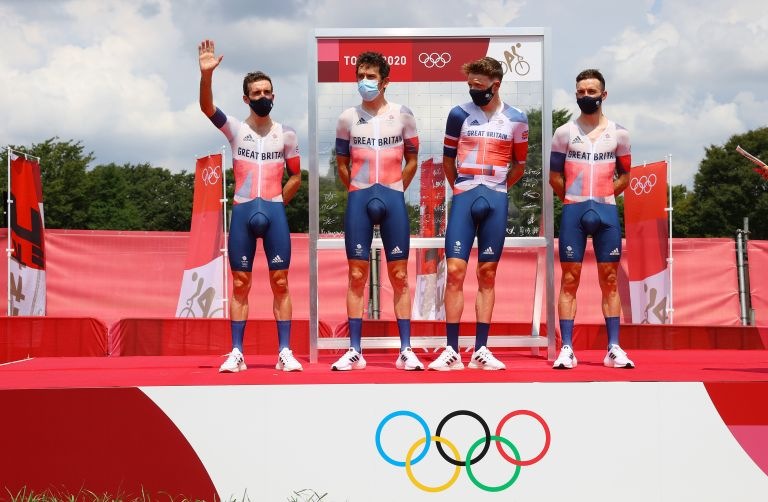 The men's Team GB squad at the Tokyo Olympics