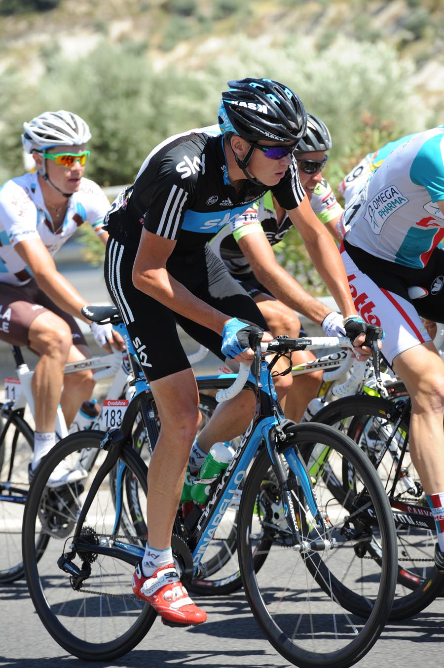 Chris Froome, Vuelta a Espana 2011, stage five