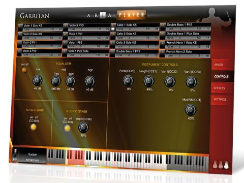 Personal Orchestra now uses Garritan's own Aria playback engine.
