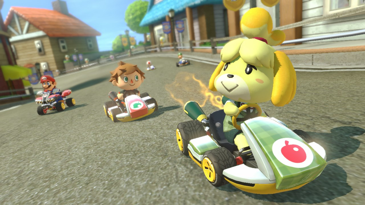 Mario Kart 8 Dlc Expands With Amiibo F Zero And Zelda Gamesradar