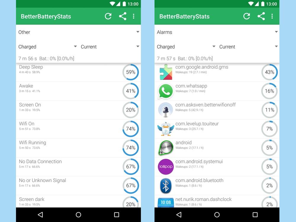 best battery apps: betterbatterystats
