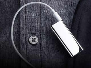 The 4GB special edition polished stainless steel iPod shuffle