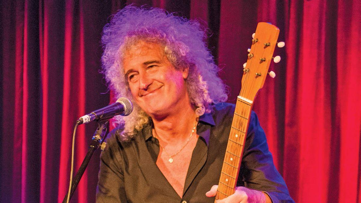 Queen's Brian May on Freddie Mercury's Guitar Skills
