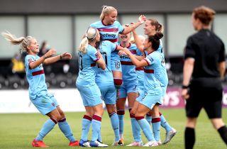 Tottenham Hotspur v West Ham United – FA Women's Super League – The Hive Stadium