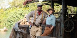 Jungle Cruise's Emily Blunt And The Rock Debate If They Could Beat Indiana Jones In A Fight