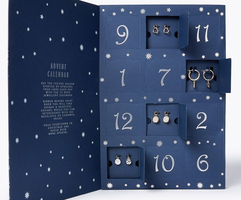 MS jewellery advent calendar