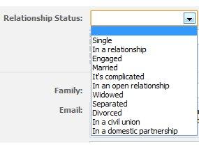 Facebook offers up new relationship options | TechRadar