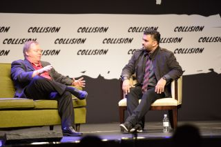 Roku CEO Anthony Wood at Collision Conference 2016
