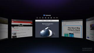Samsung Gear Web Browser