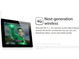 New iPad being sold as 4G in UK