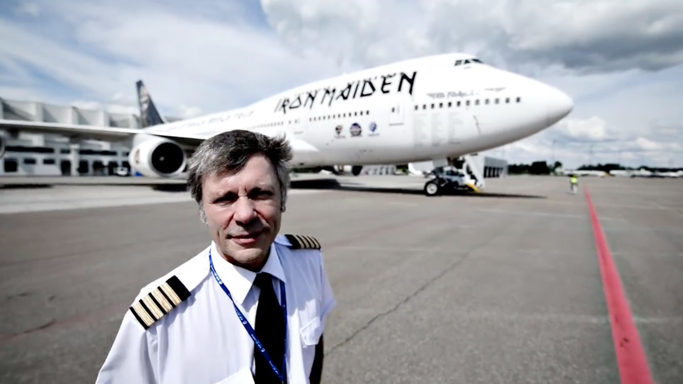 bruce dickinson says goodbye to ed force one | louder