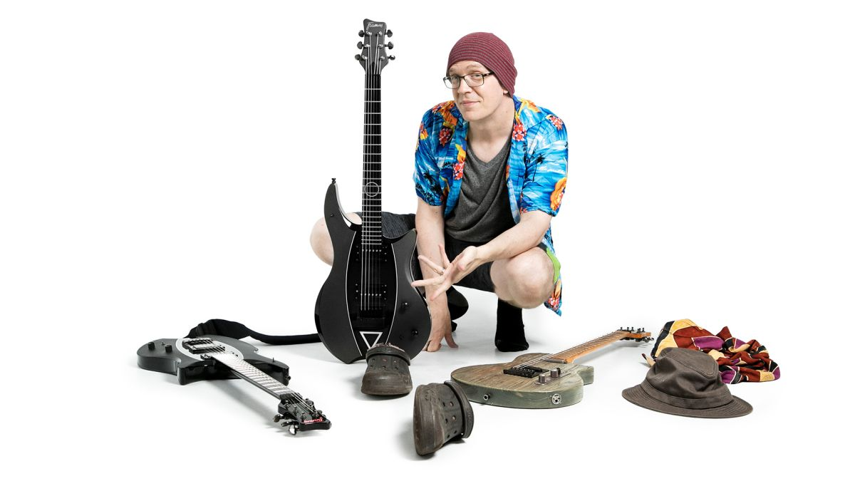 Devin Townsend on finding his perfect guitar rig, the key to great improv and the guitarist who changed everything for him