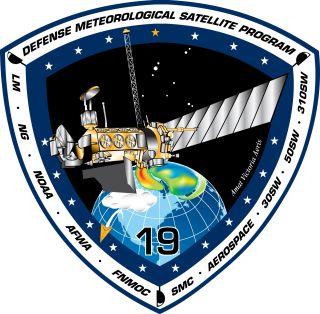 Defense Meteorological Satellite Program Flight 19 Satellite