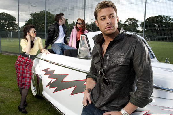 A quick chat with Duncan James
