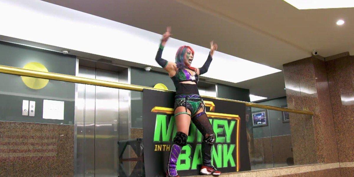 Asuka at Money in the Bank 2020