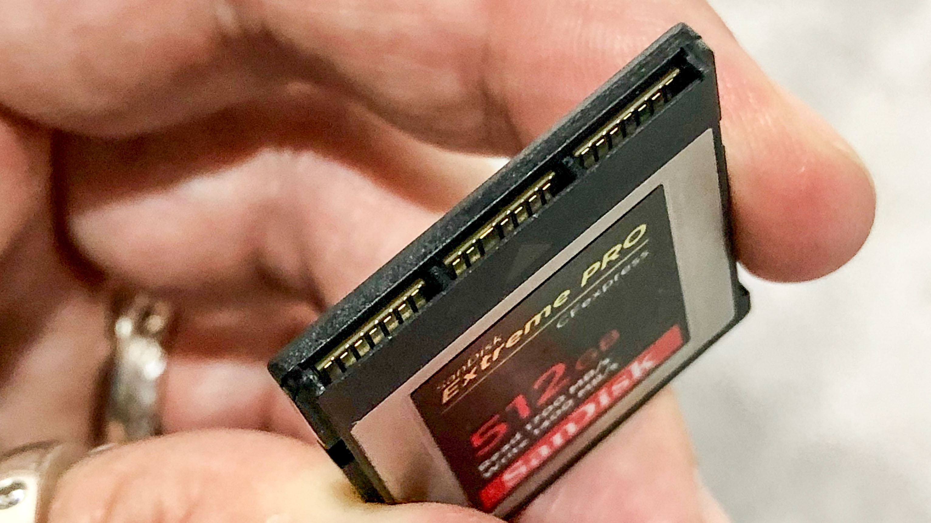CFexpress cards are here! Canon is first to use SanDisk's superfast memory cards | Digital Camera World