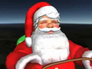 Santa in 3D and on Google Maps