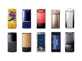 DoCoMo phones