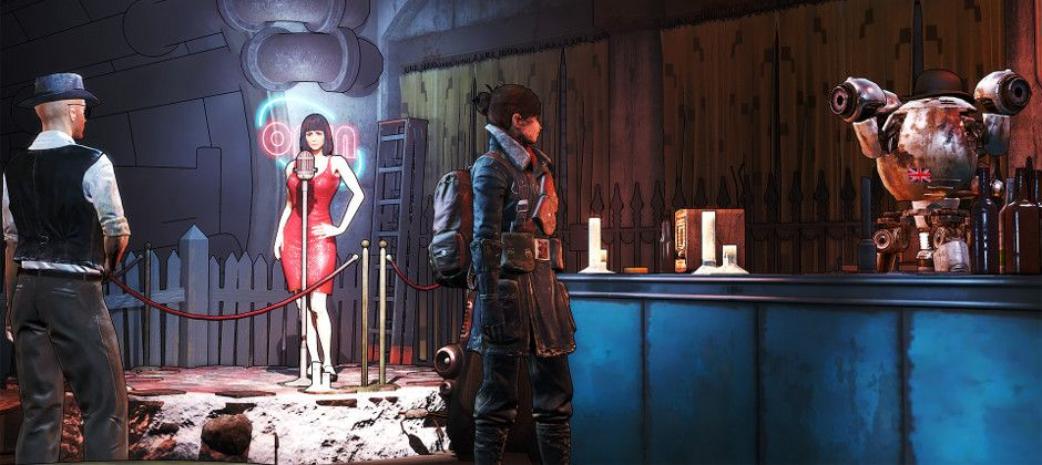 It's Fallout 4 X Borderlands with this clever graphics tweak
