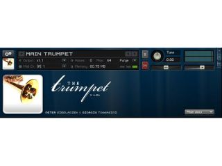 The Trumpet's interface is certainly simple.