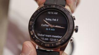 Smartklockan LG Watch W7.